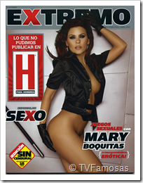 Mary Boquitas - Revista H Extremo