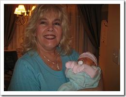 Tessa with Nana Lorna