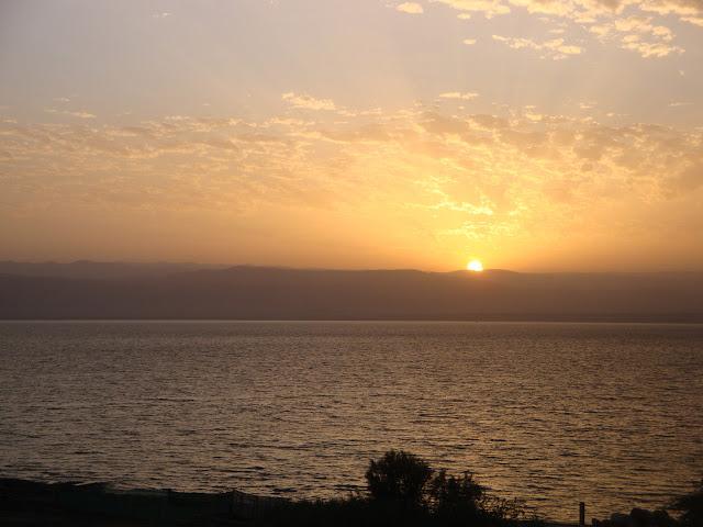 جبل القدس، من البحر الميت - الضفة الشرقية