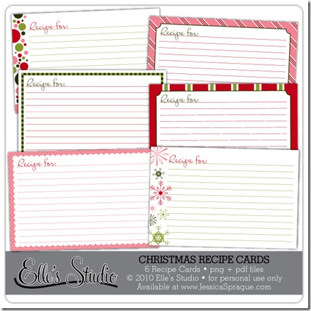 EllesStudio-ChristmasRecipeCards