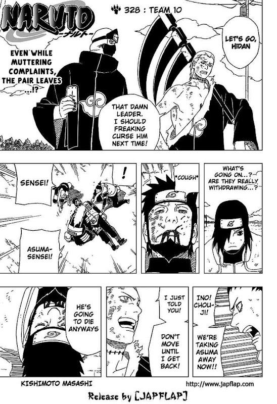 Naruto Shippuden Manga Chapter 328 - Image 01