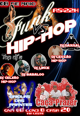 FESTA: FUNK VS HIP HOP