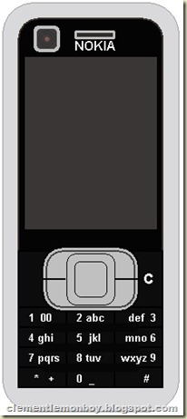 Nokia 6120 Classic (after)