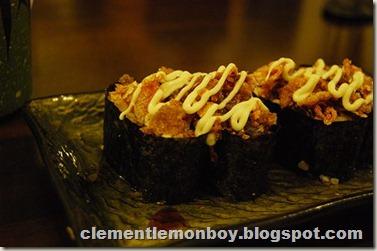 Salmon Skin Sushi