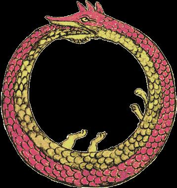 The Ouroboros is an ancient symbol for the concept of the eternal return