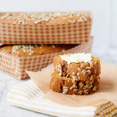 Pumpkin Apple Sunflower Bread