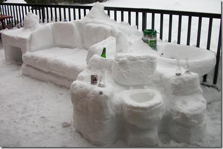 SnowSculpture