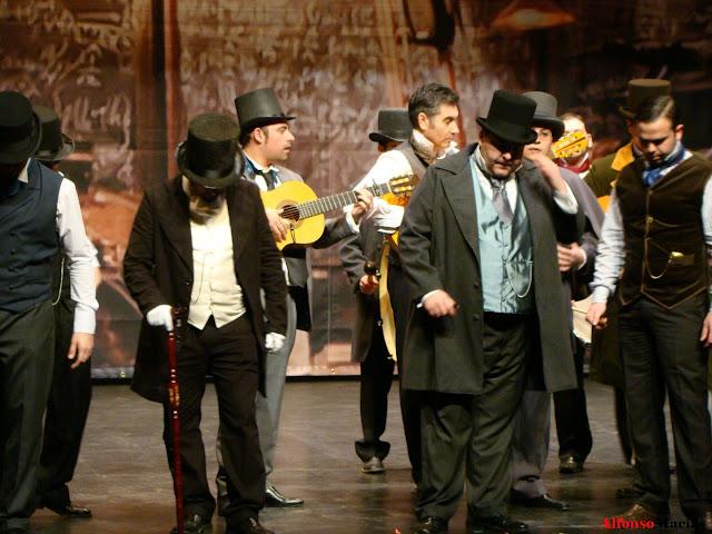 Segundo día del Concurso provincial de Agrupaciones del Carnaval 2010 de Valverde del Camino