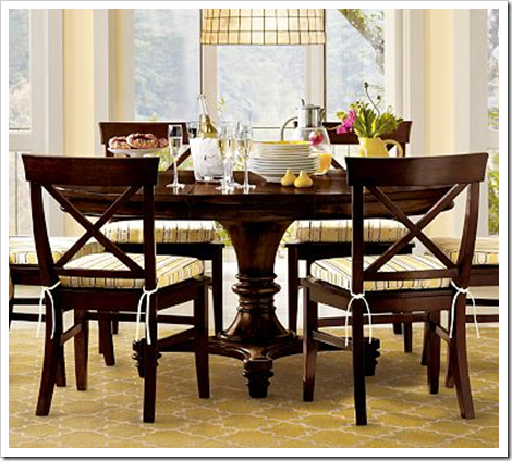 montego dining table pottery barn images