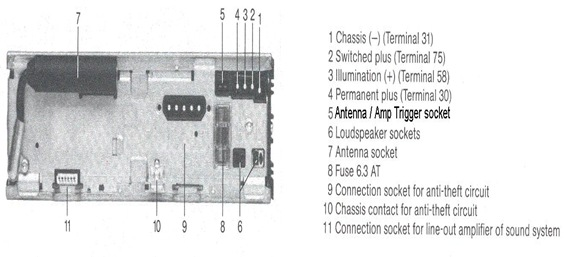 becker 780 1480 Wiring diagram