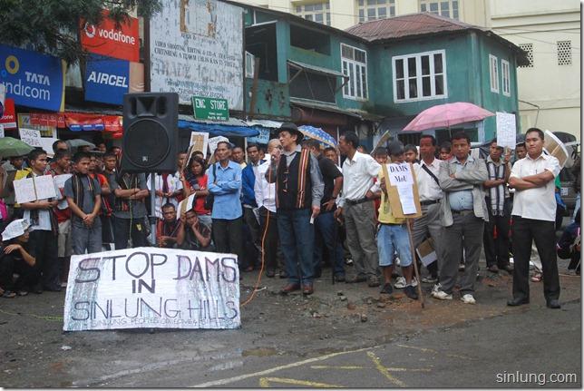 SHDC Mizoram Anti Dam Protest 16