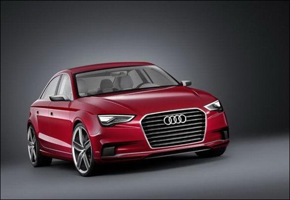 Conceito da Audi revela as linhas do Novo Audi A3 2012