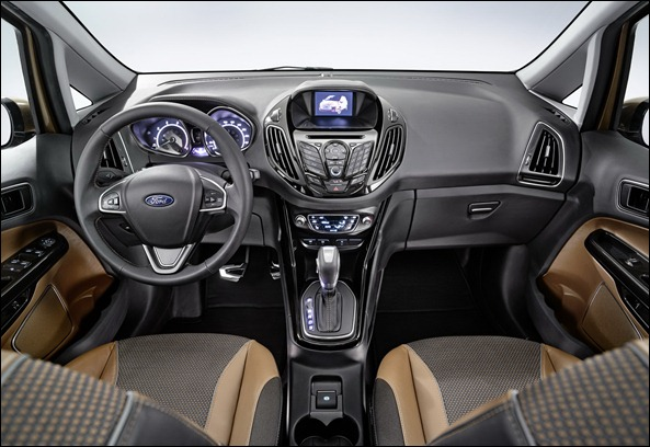 Ford revela a nova minivan B-Max