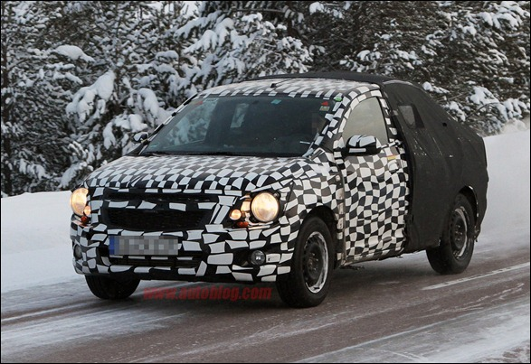 Novo flagra do futuro Chevrolet GSV