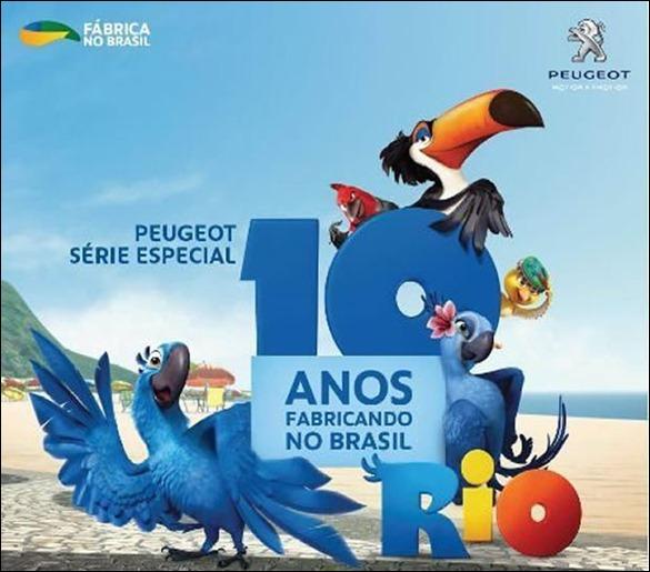 Peugeot lança série especial de 10 anos de produção no Brasil