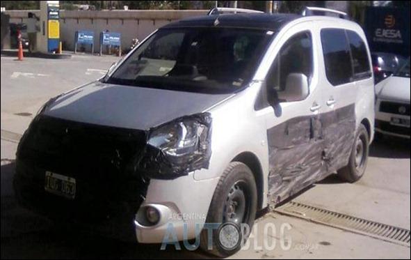 Novo Citroën Berlingo é flagrado na Argentina