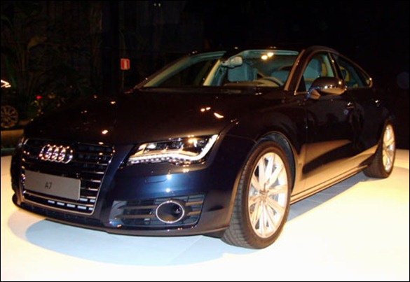Audi mostra Novo A7 Sportback em SP