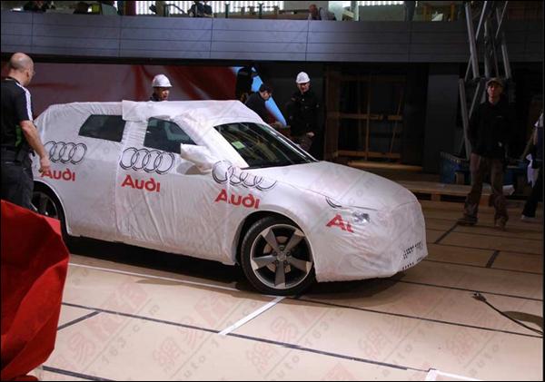 Segredo: Novo Audi A3 estará em Xangai!