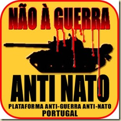 NÃO À GUERRA - ANTI NATO