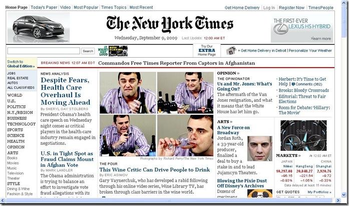 Garyvee NYT 9.9.2009