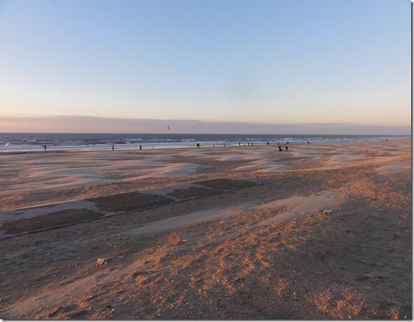 strand in Wijk aan Zee