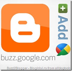 google buzz for blogger