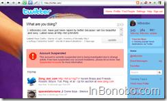 inbonobo @ twitter = suspended!