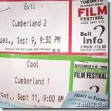 Evil & Cool @ TIFF 2003 & 2004