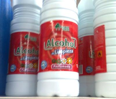 Isoprop lico y productos qu micos en general for Productos limpieza coche mercadona