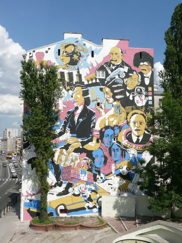 Warszawa w obiektywie 2010 lipiec 20 for Mural warszawa 44