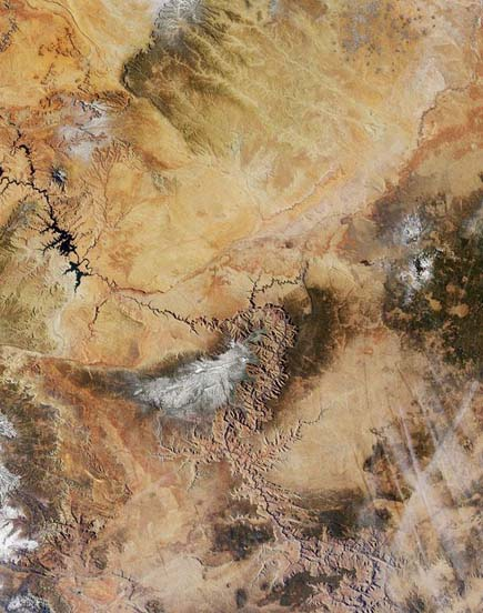 ig21 above grand canyon 02 14 Most Amazing Satellite Pictures You'll Ever Seen Before