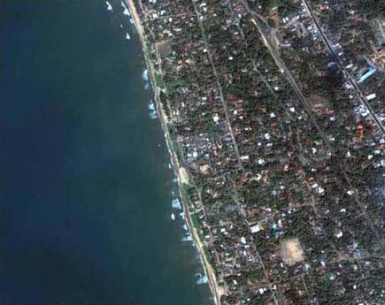 tsunami 1 14 Most Amazing Satellite Pictures You'll Ever Seen Before