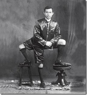lentini, la maravilla de 3 piernas, 1910