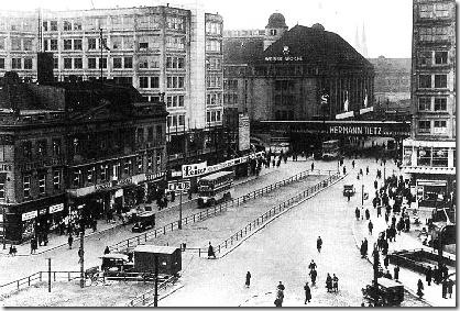 Alexanderplatz en los 30
