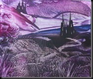 purple 2 fantasy castles mousemat 1388 x 1163