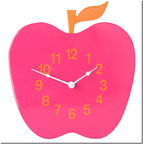 jonathan adler apple clock