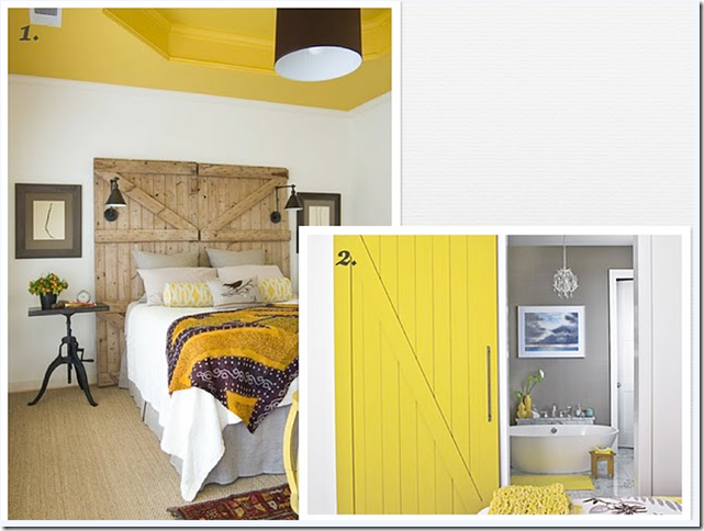 yellow color psychology interior design