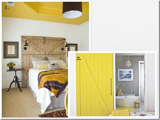 yellow color psychology interior design