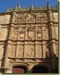 Facade of U. de Salamanca