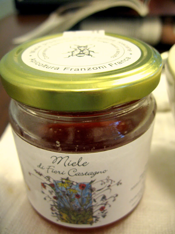Franca Franzoni's Miele di Fiori Castagno or Chestnut Honey