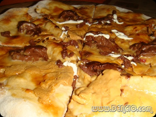 Nuttylicious Pizza: Php105