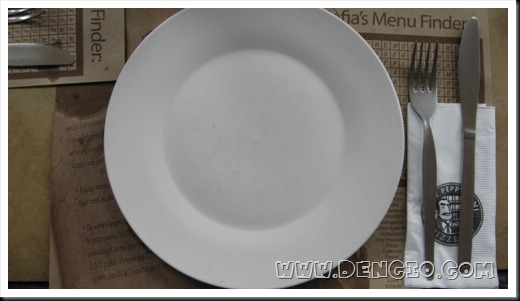 White Plate...
