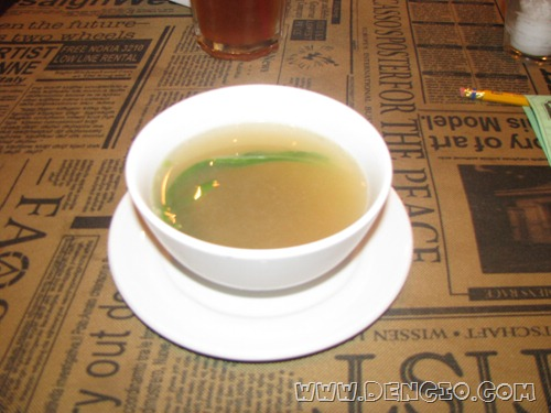 Hainanese Chicken Rice Soup