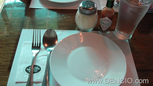The Old Spaghetti House TOSH DENCIO COM & Captivating Normal Table Setting Gallery - Best Image Engine ...