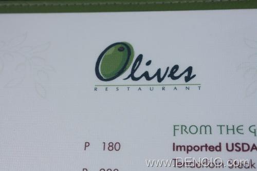 Olive's Menu01