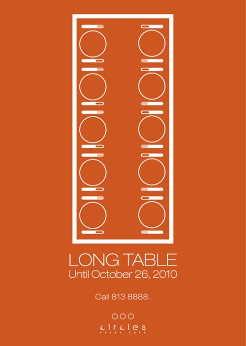 Circles Long Table