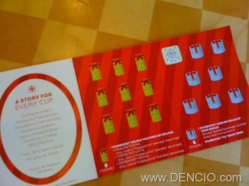 Starbucks Planner 2011 002