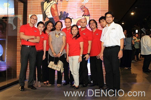 Max's Marketing Team with Max's Jim Fuentebella