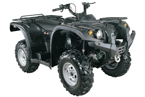 500cc 700cc 4WD Farm Quad Bikes ATV Shaft Drive - Atomik Krusher 500 4x4