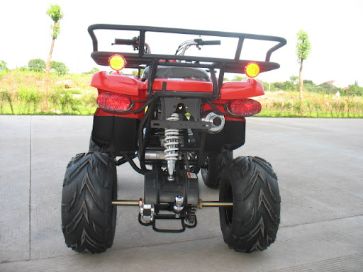 150cc Farm Quad Red